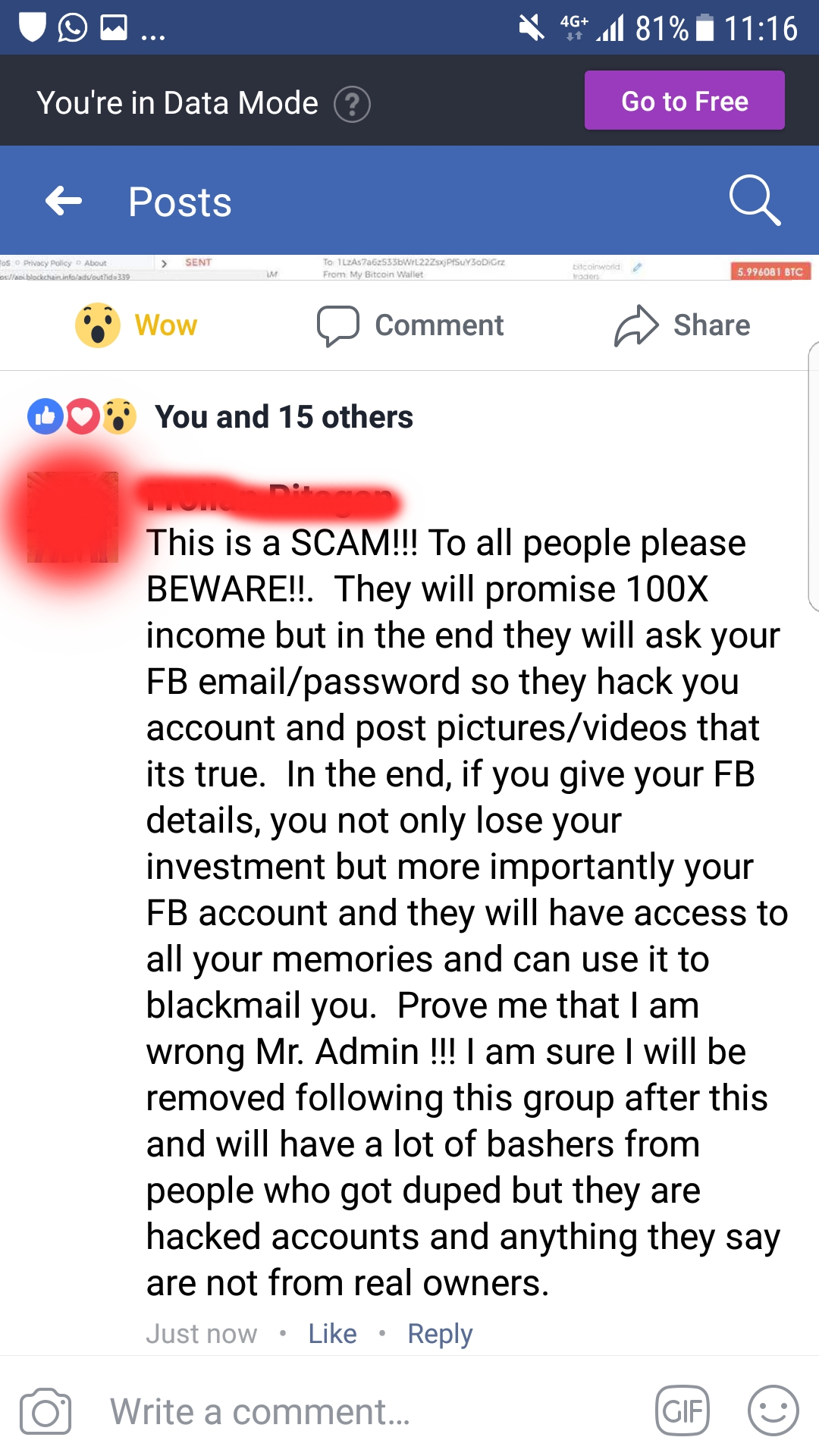 Bitcoin World Traders scam